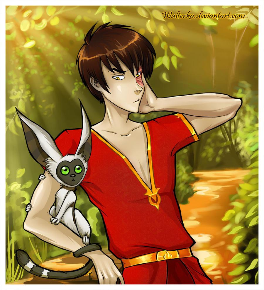 Fire prince Zuko by walterka