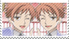 Hikaru and Kaoru Stamp II by Kibby47