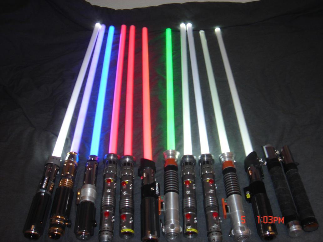 Star Wars Lightsabers All My Star Wars Lightsabers 2