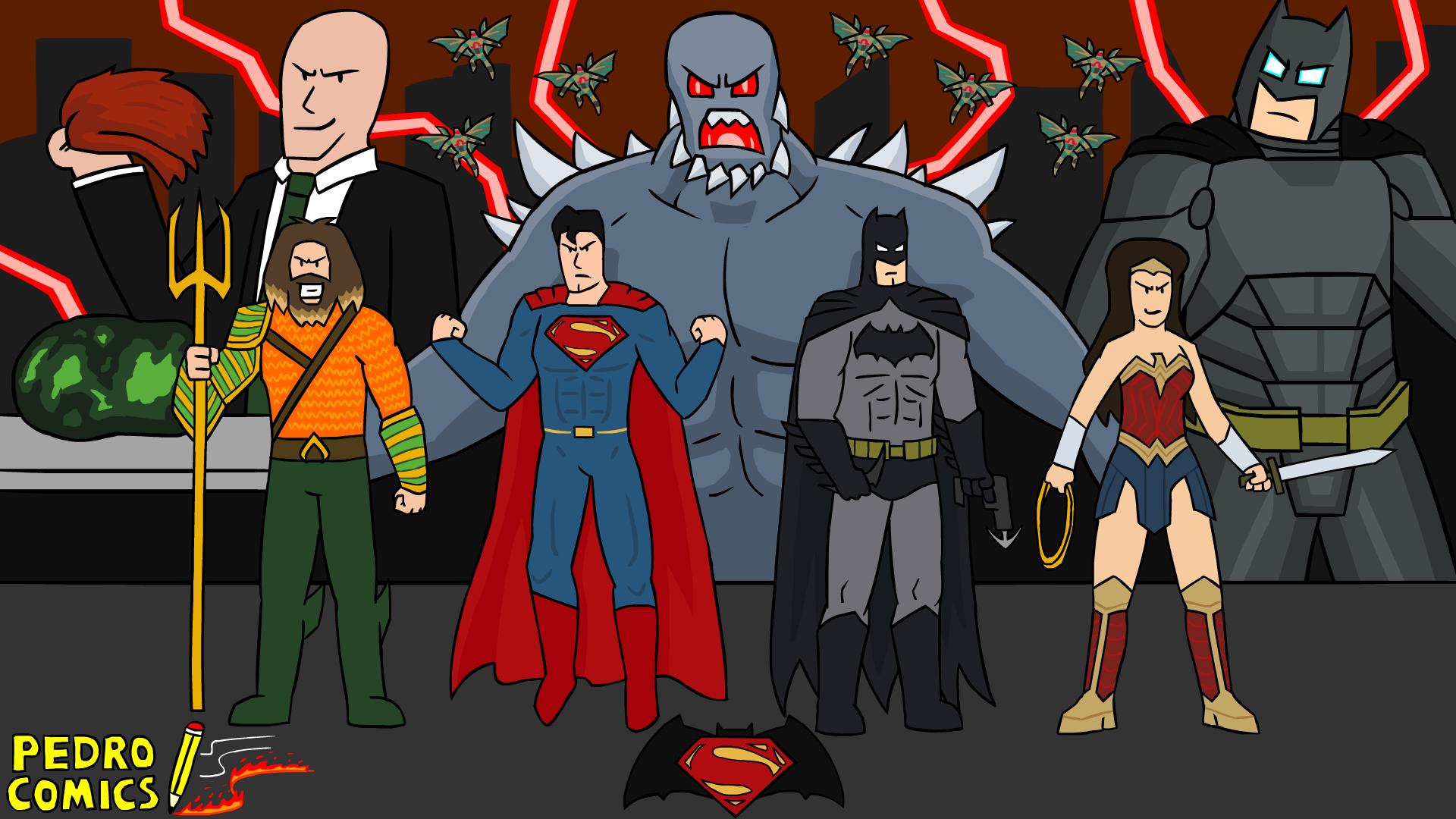 Beautiful Wallpaper Halloween Batman - batman_v_superman__dawn_of_justice_wallpaper_by_pedrocomics-d9wpkqq  Snapshot_209164.png