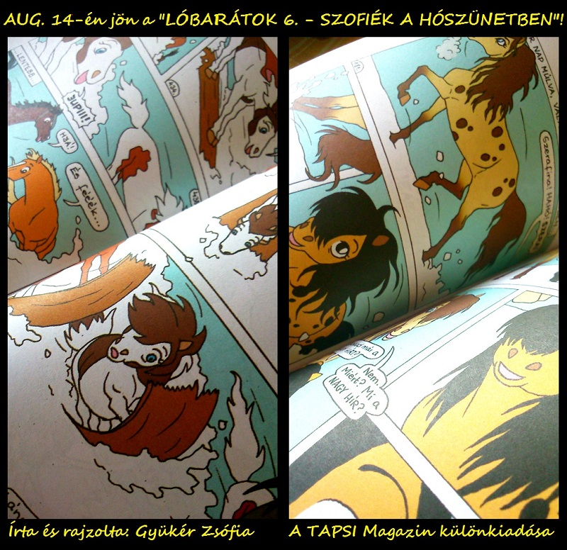My 6th LOBARATOK comic book is coming by ZsofiaGyuker