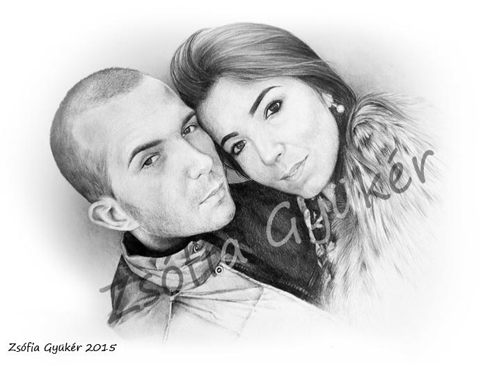 Couple Portrait by ZsofiaGyuker