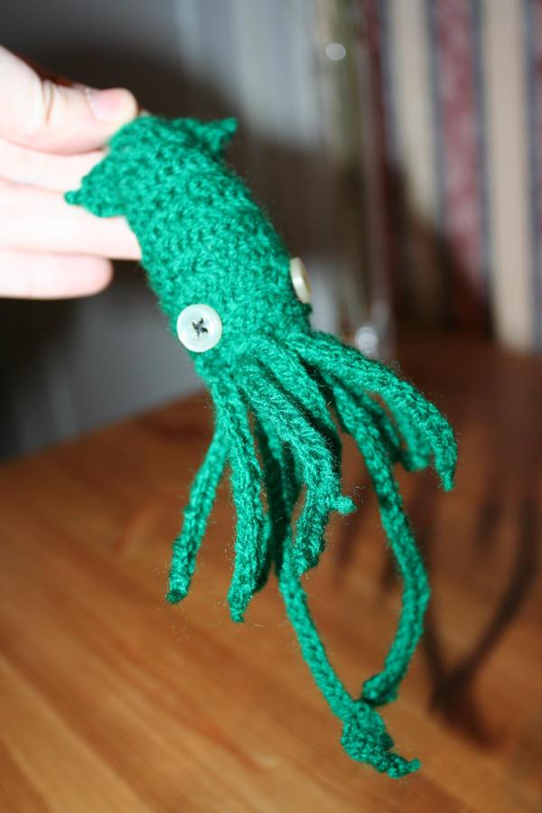 Mini Giant Squid by Jinx-Fulion