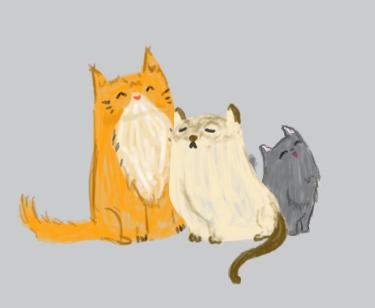 kitties by Jinx-Fulion