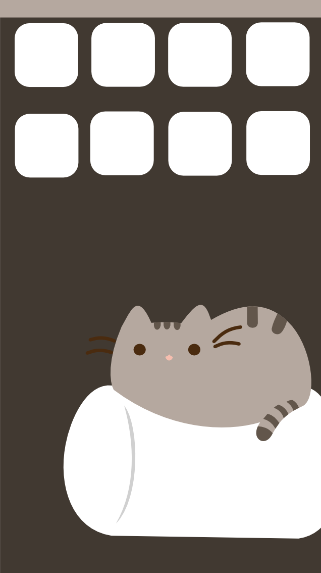 Pusheen Iphone 5 Wallpaper By SymphonicFire