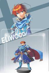 Eliwood Amiibo - Fire Emblem