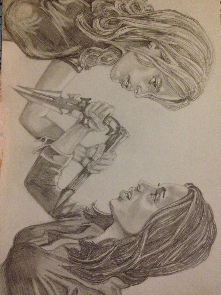 Faith and Buffy by cammy21