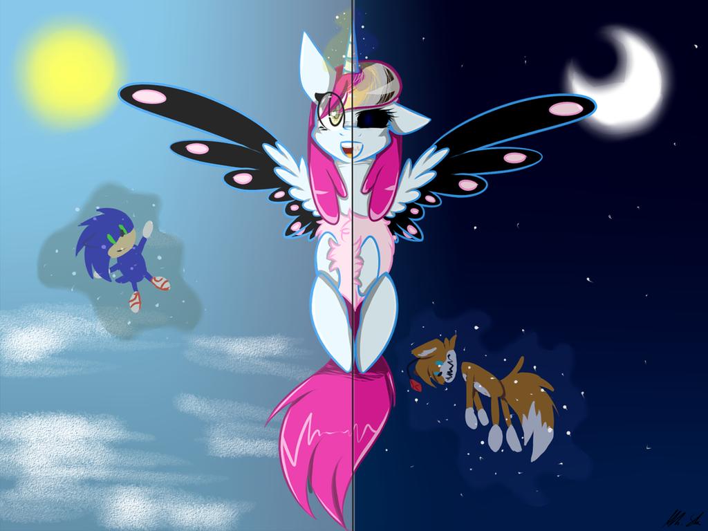 trade whit sonic lover ^^ by PurpleGirl-FNAF