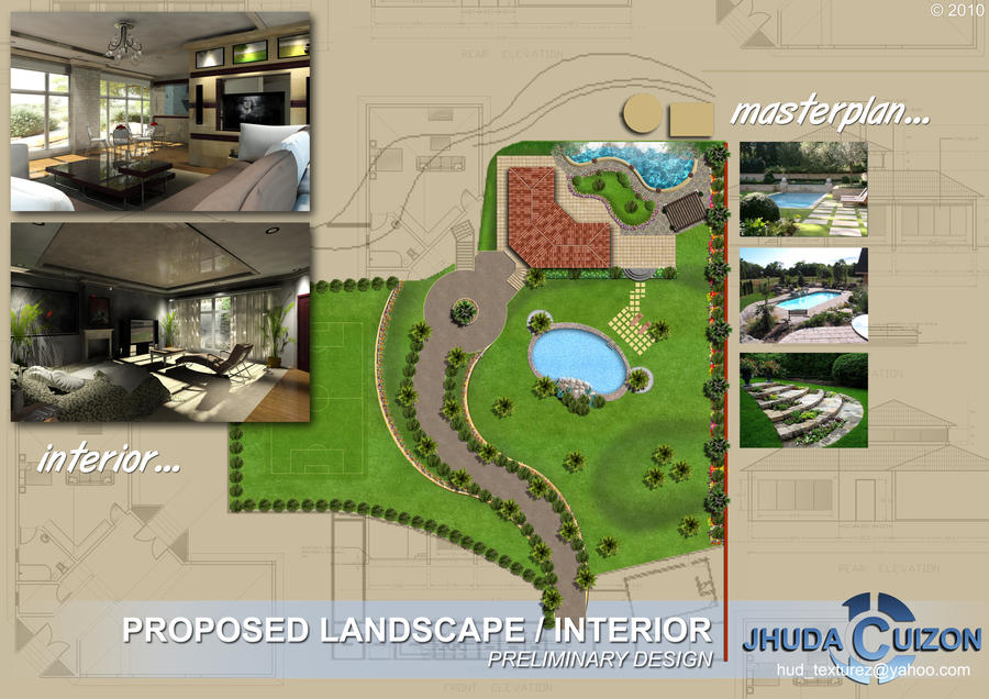 Landscape And Interior Design By Hudtexturez