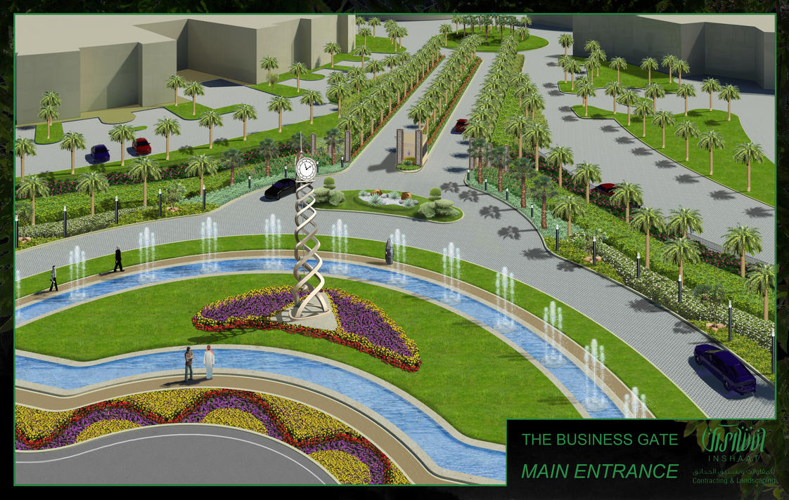 Landscaping Design For Roundabouts