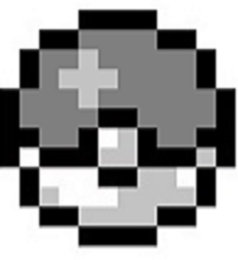 Simple Grayscale Pokeball By Dragonshadow3 On DeviantArt