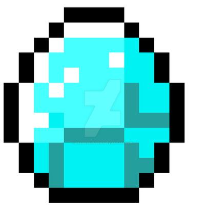 Minecraft Diamond Template Minecraft Diamond by D...