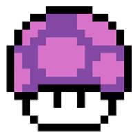 Poison Mushroom Paper Mario Sticker Star