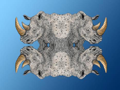 Rhino Totem Variant II