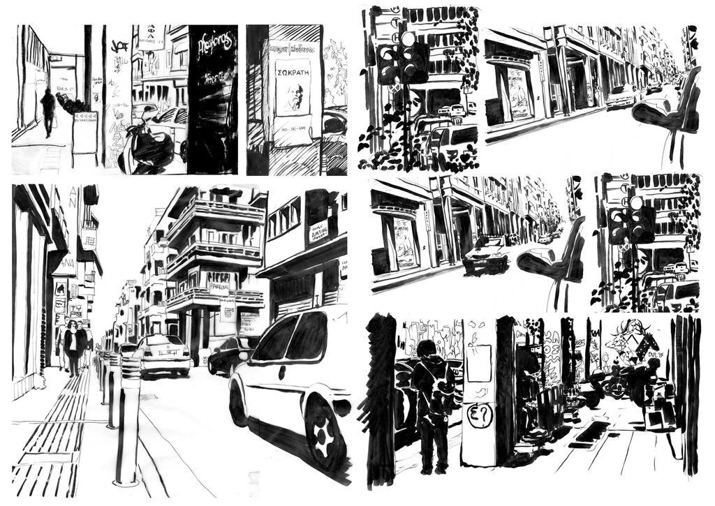 Comic Illustration by SofiaAvramidou