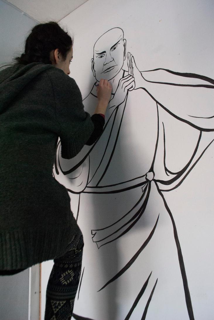 Shaolin Greeting by SofiaAvramidou