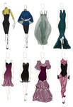 Fashion Design Compilation 1