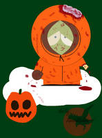 zombie Kenny by RavenRechior