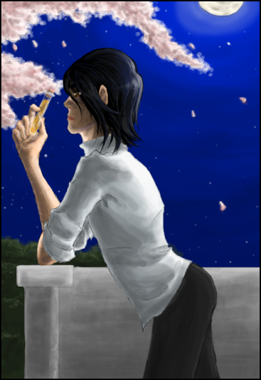 Moonlight, Blossoms, and Drugs by Absolute-Sero