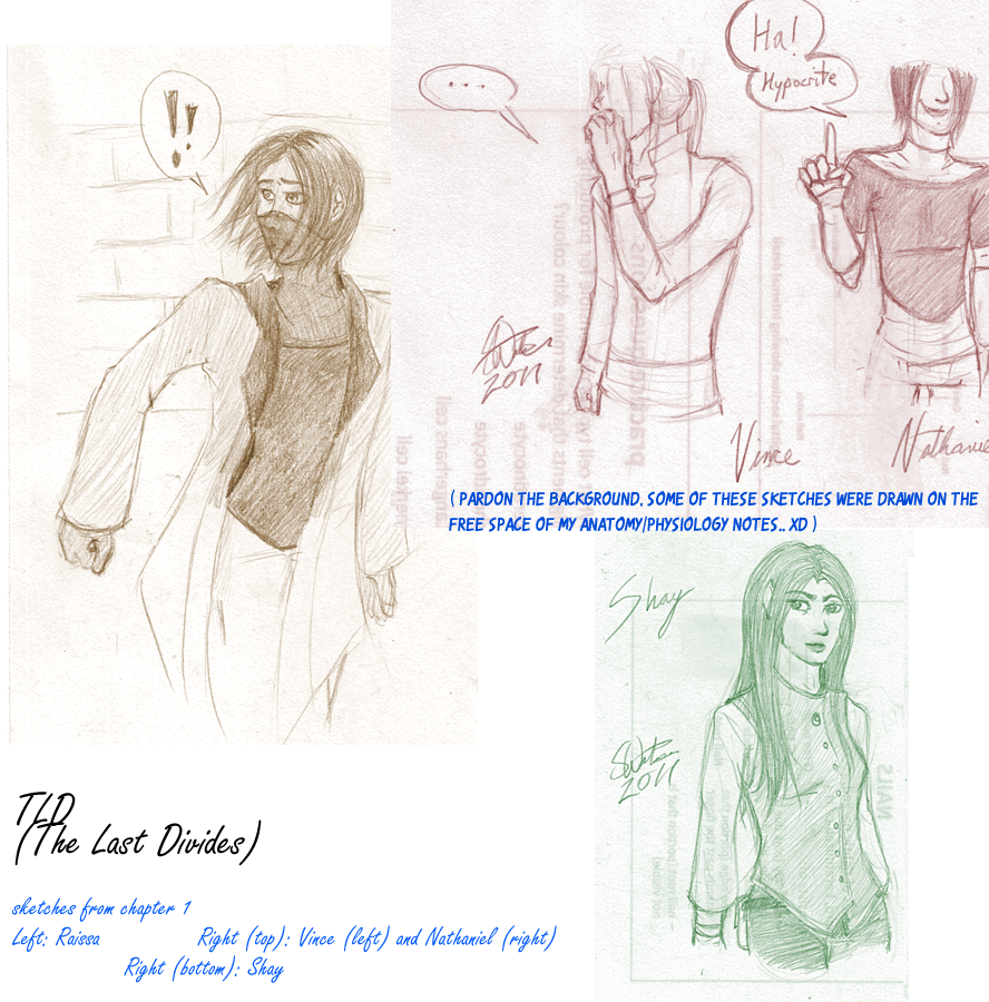 TLD: CH1 - sketches by Absolute-Sero