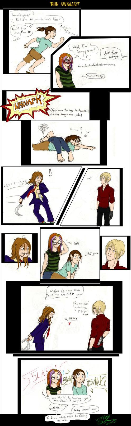 Comic - run AWAAAAY by Absolute-Sero