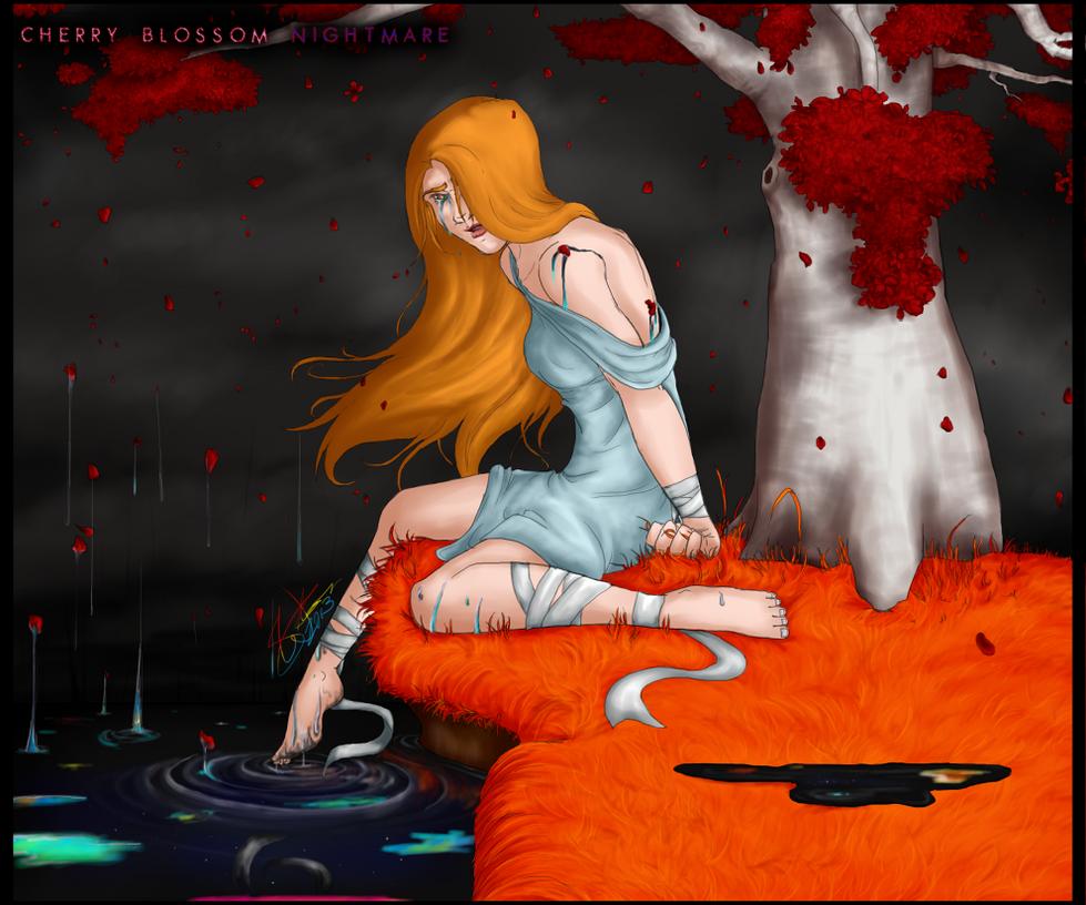 Cherry Blossom Nightmare by Absolute-Sero