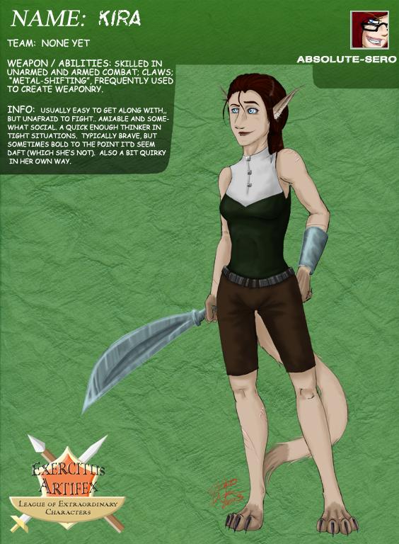 EA-LEC: Kira Tombin by Absolute-Sero