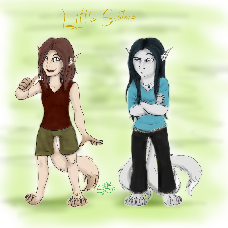 EA-LEC: the little sisters by Absolute-Sero