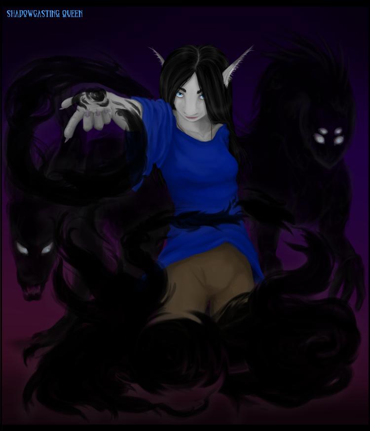 Shadowcasting Queen by Absolute-Sero