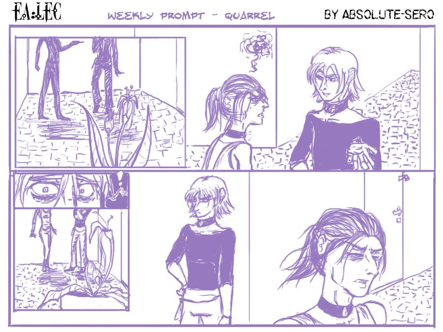 EA-LEC: quarrel (weekly prompt) by Absolute-Sero