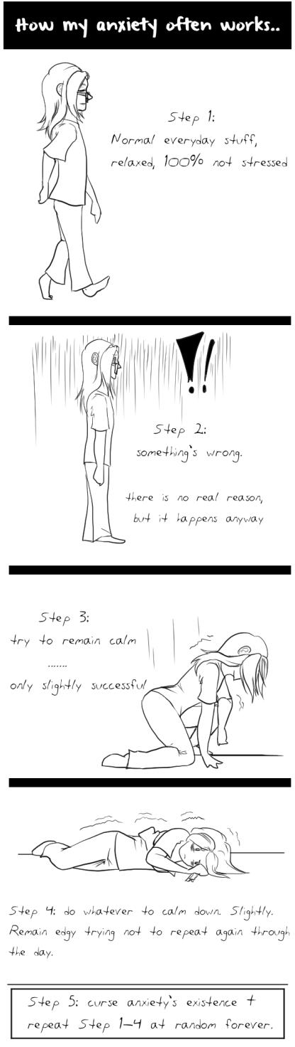 Comic - anxiety sucks by Absolute-Sero