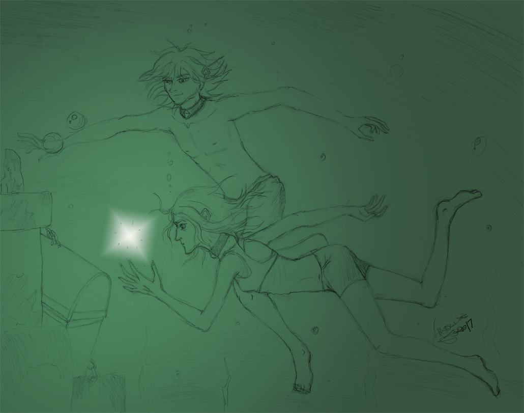 EA-LEC:  a little swimming never hurt by Absolute-Sero