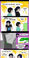 Comic - the lizard