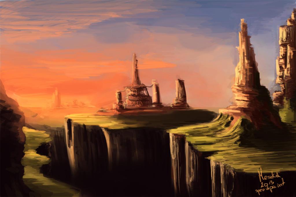 Sunset by TheMeszka