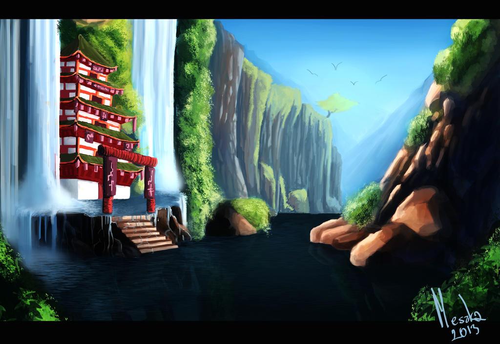 The Pagoda by TheMeszka
