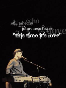 An echo in my heart...