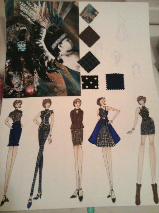 Fashion Storyboard 1 By XKanna On DeviantArt