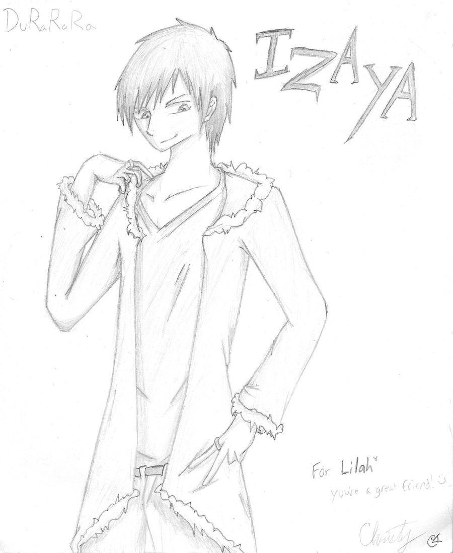 Izaya -request- by XyAckhart