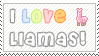Love Llamas by Tami-Stamps