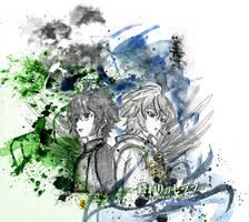 Owari No Seraph- Mika and Yuu by Pearlonthesea