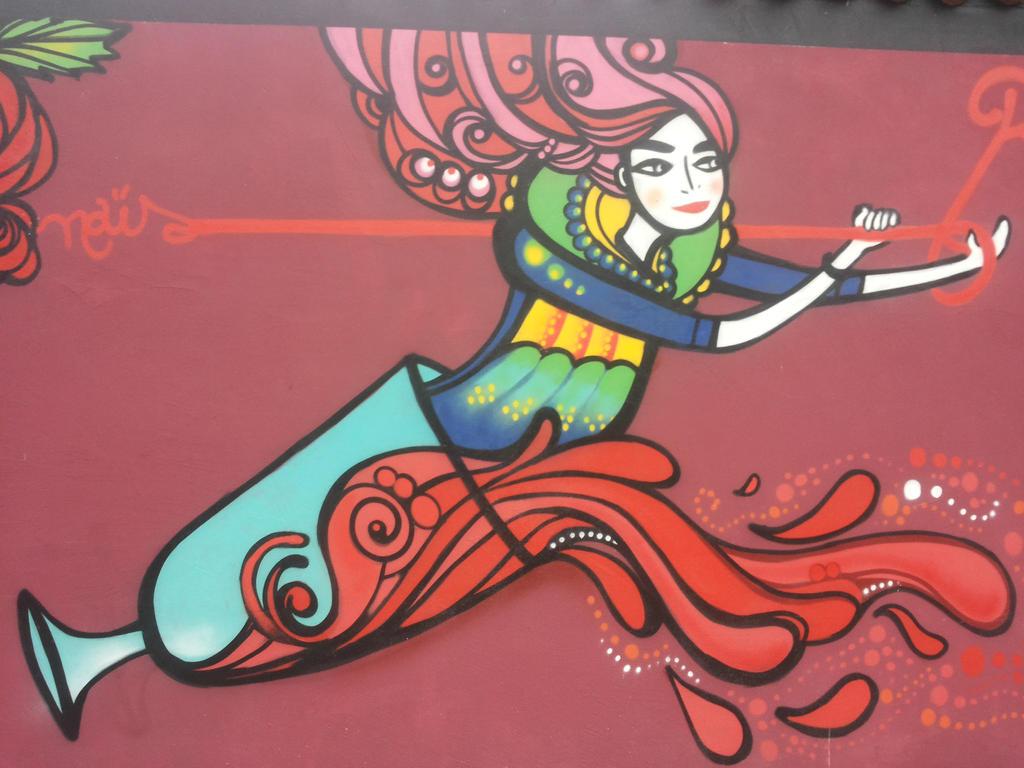 Campari murales 2 by Hevonie