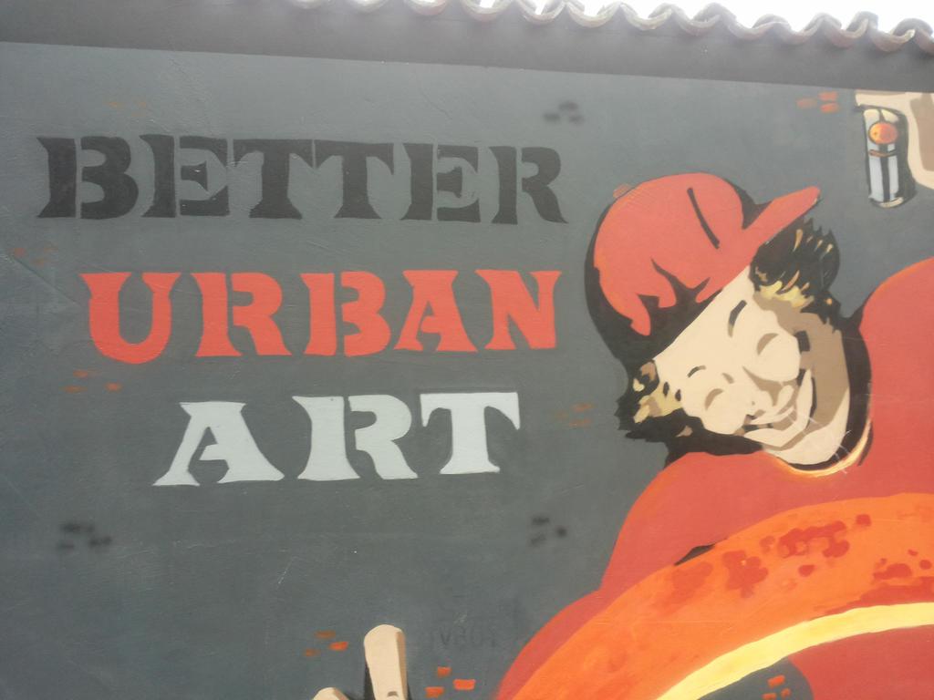Campari murales 3 by Hevonie