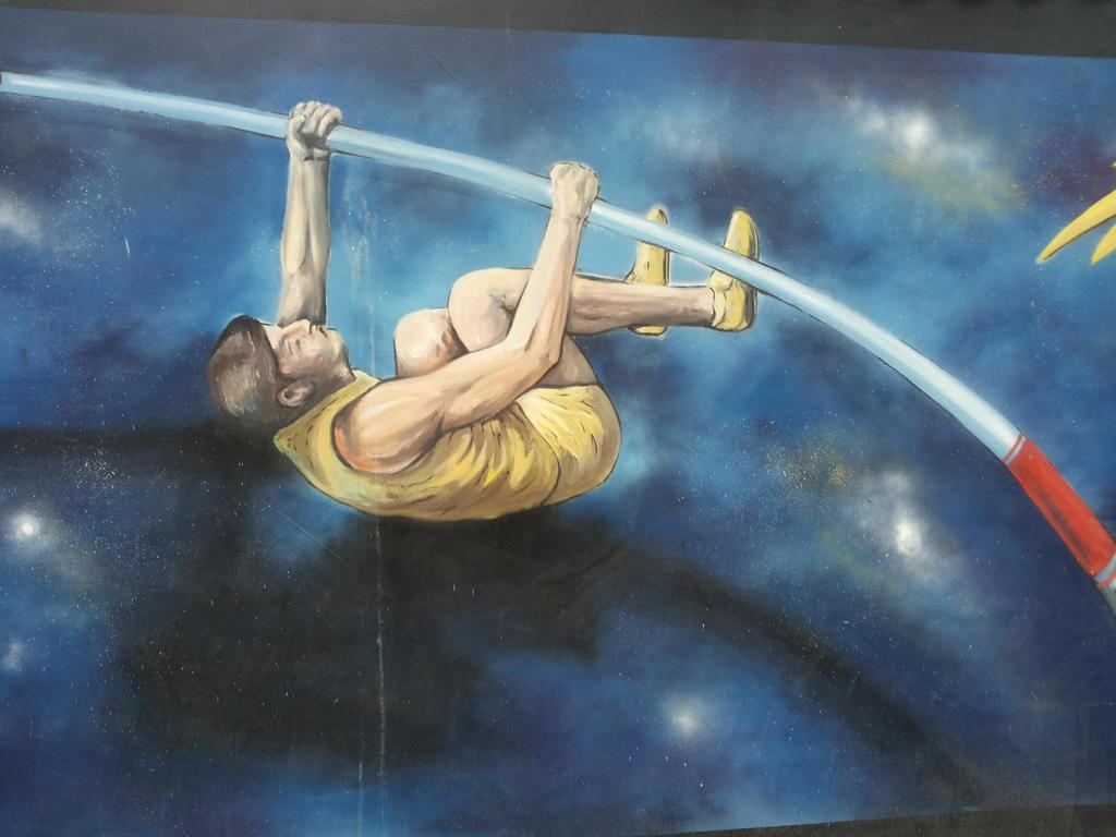 Campari murales 4 by Hevonie