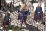 Super Sized Supergirl Surges Skyward