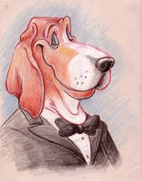 Dog Caricature Beagle by Morpheus306