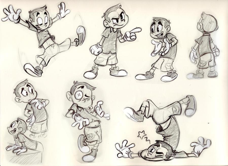 Comic Book Character Design Sheet : New model sheet by morpheus on deviantart
