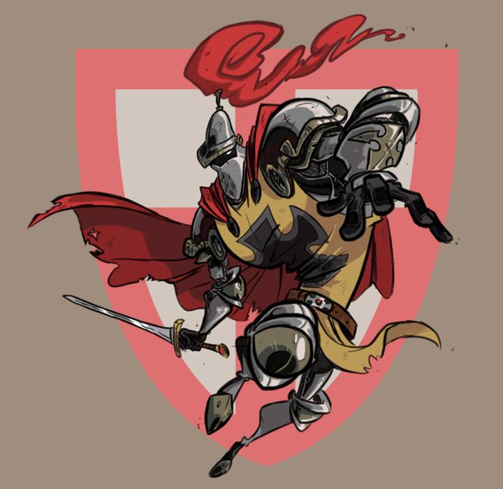New Crusader by Morpheus306