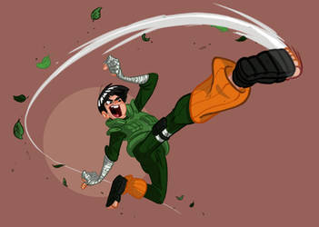 Rock Lee Morf Style by Morpheus306