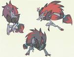Zoroark Sketches