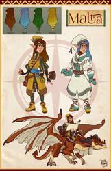 Dragon Rider by Morpheus306